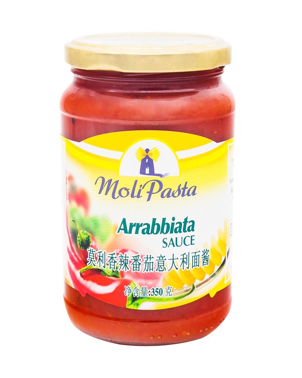 Moli Pasta Arrabbiata sauce 350g_cr